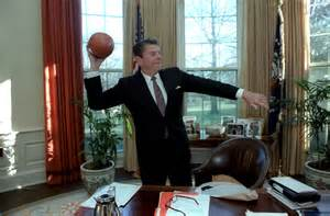 president oval office ronald reagan presidential library national archives and