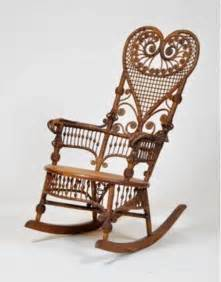 Victorian wicker rocking chair antiques in the parlor pinterest