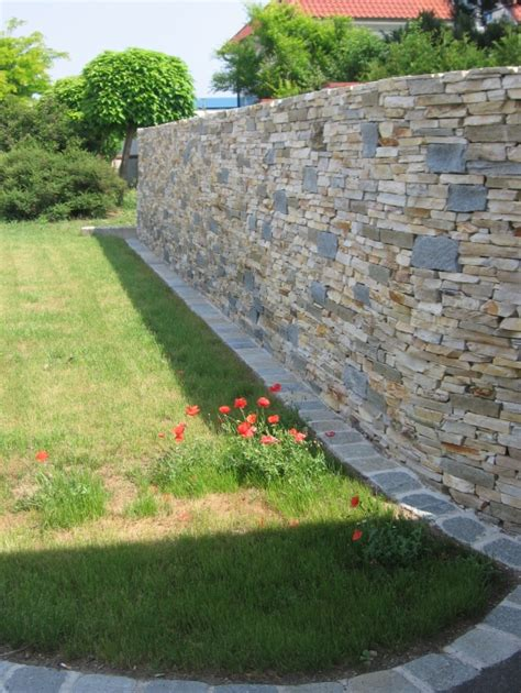 steinmauer im garten 1611 gartengestaltung hermann neu inspirationen steinmauern