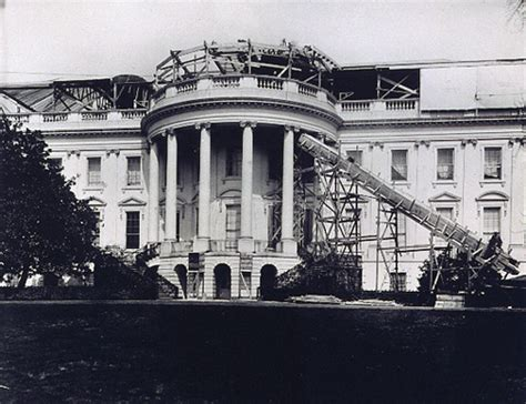 Building The White House by The Construction Of The White House From The Brick