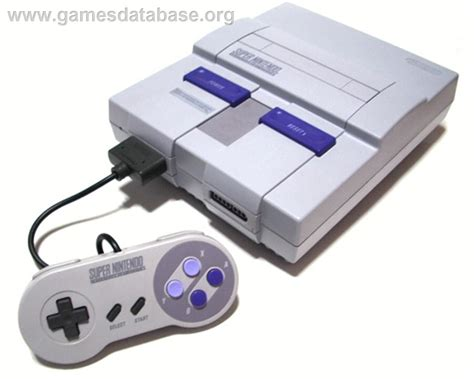 nintendo console about nintendo snes database