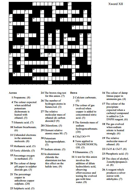 How Many Elements On Periodic Table 18 Educative Chemistry Crossword Puzzles Kitty Baby Love