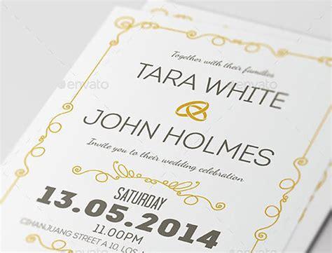 25 gorgeous psd wedding invitation templates bashooka