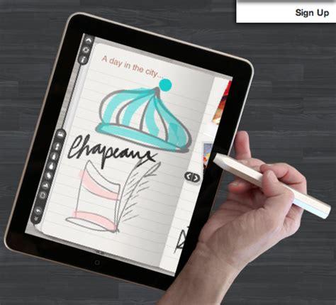 drawing tutorial sketchbook ipad new ipad app makes sketching social