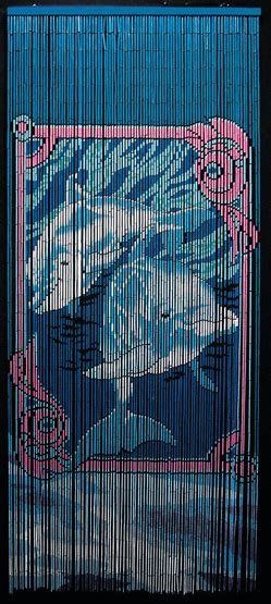 bob marley beaded curtains beaded bamboo room divider with dolphins