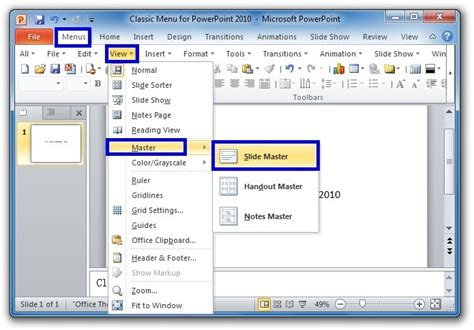 Where Is Slide Master In Microsoft Powerpoint 2007 2010 2013 2016 2019 And 365 Powerpoint Master Template