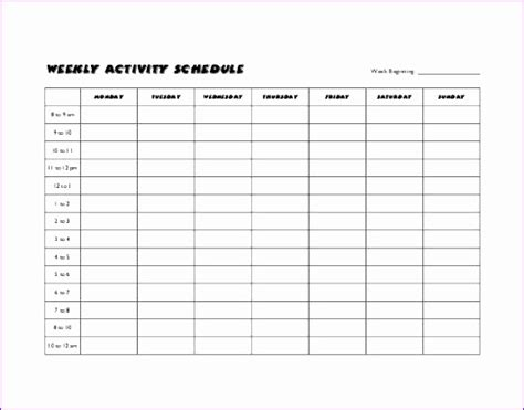 Timetable Outline Template by 8 Timetable Template Excel Exceltemplates Exceltemplates