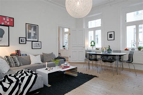 Apartment Home Living by Swedish Apartment Boasts Exciting Mix Of And New