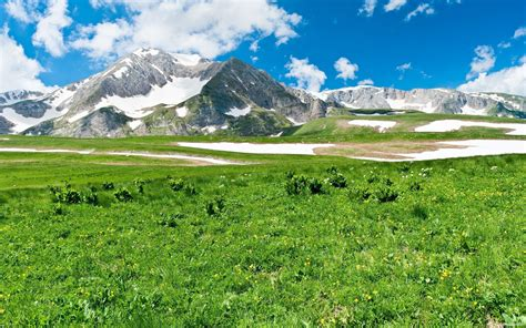 spring weather clear spring weather in the mountains wallpapers and