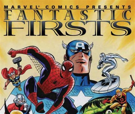 Fantastic Firsts For fantastic firsts vol i trade paperback comic books