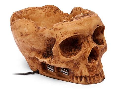 terrible skull  port usb hub gadgetsin