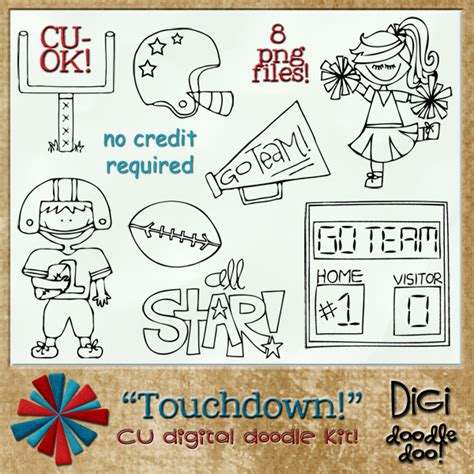 doodle football touchdown football cu doodles touchdown football cu