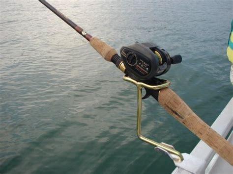 sea pro boat rod holders pontoon boat rail fishing rod holder new ebay