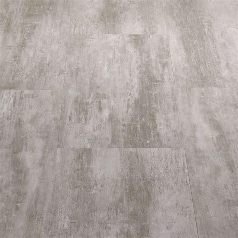 Starfloor Tile Scratched Metal Grey Luxury Vinyl Tile