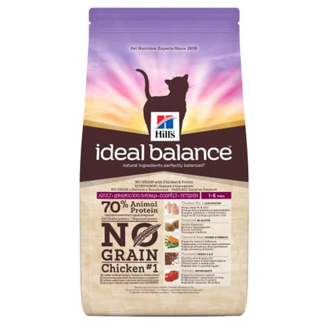 no grain food ideal balance no grain chicken potato cat food from 163 17 03