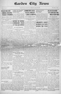 Garden City Ny Newspapers All Pages The Garden City News Garden City N Y 1923