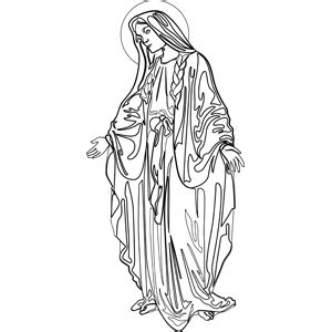 printable coloring pages virgin mary virgin mary tattoo coloring pages