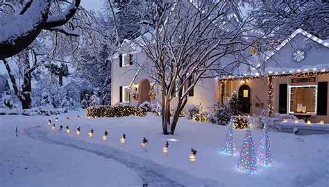christmas houses in snow lights buying guide