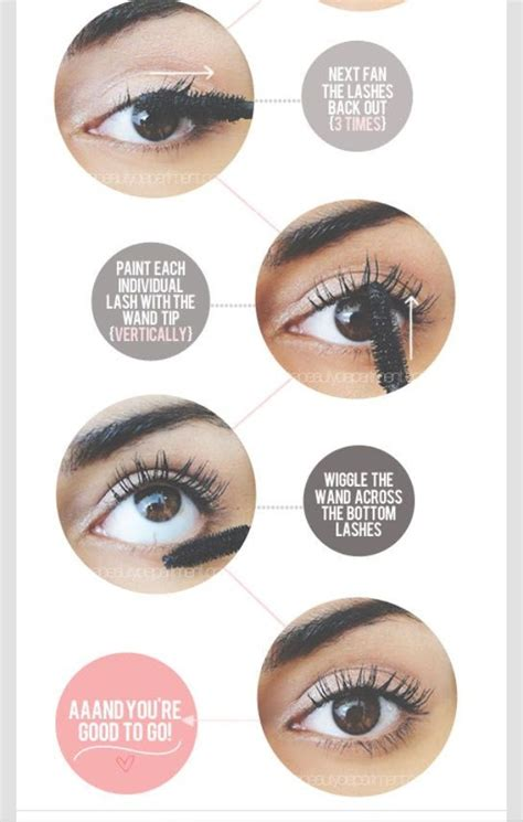 7 Of Applying Mascara The Right Way by Applying Mascara The Right Way Trusper