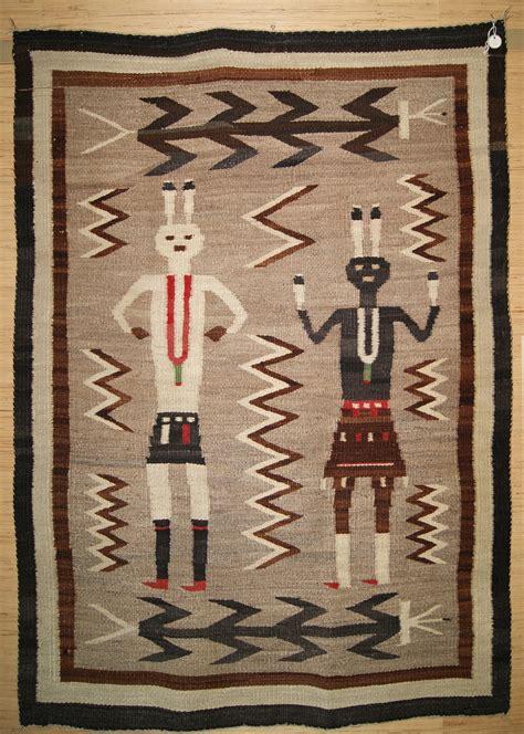 navaho rug historic yeibichei pictorial navajo rug for sale circa 1920