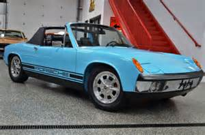 Porsche 914 Blue 1973 Porsche 914 914 Targa Olympic Blue For Sale Used