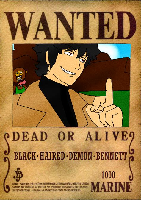 Poster Wanted One wanted poster on onepiece fan club deviantart