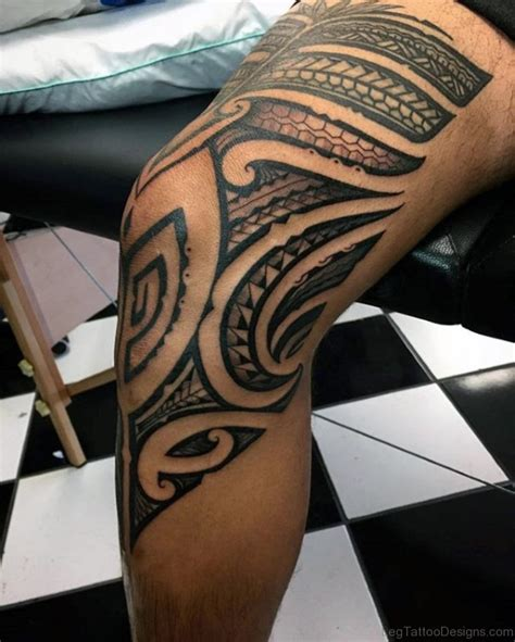 tribal tattoo on thigh 53 fantastic tribal tattoos on thigh