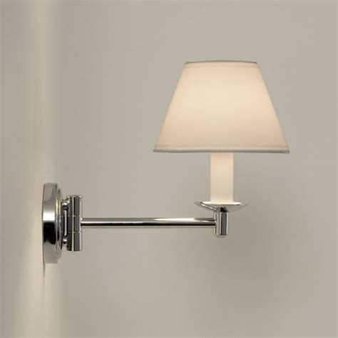 Bathroom Light Ip44 by Traditional Swing Arm Bathroom Wall Light White Pvc