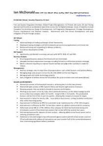Early Years Practitioner Sle Resume by Ian Mcdonald Cv Version September 2013