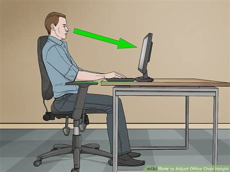desk chair height adjustment 3 ways to adjust office chair height wikihow