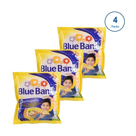 Blue Band Sachet 200 jual blue band serbaguna sachet 200 g x 4 pcs