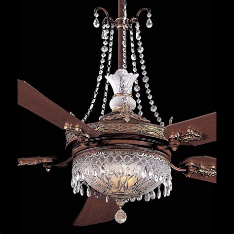 ceiling fan with crystals minka aire ceiling fan kit spectra swarovski
