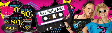 80s Supplies by Totally 80 S Birthday Supplies Decorations And Ideas