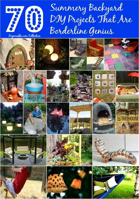 Backyard Ideas That Are Borderline Genius 70 Summery Backyard Diy Projects That Are Borderline