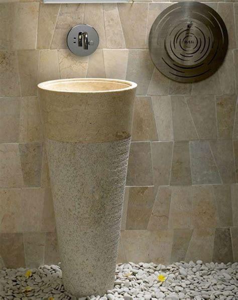 cream marble bathroom free standing pedestal sink cream marble bathroom 90 cm x 40 cm cono model