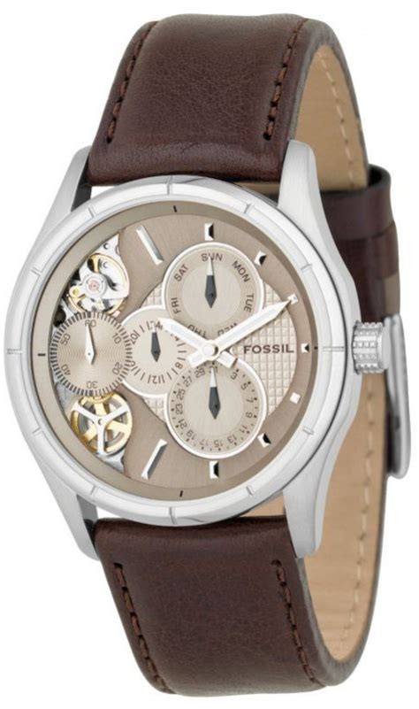 Fossil Twist fossil horloge me1020 heren twist brown
