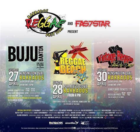 digicel barbados reggae festival  whats   barbados