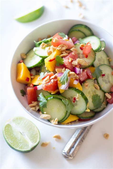 East African Mango & Cucumber Salad   The Wanderlust Kitchen