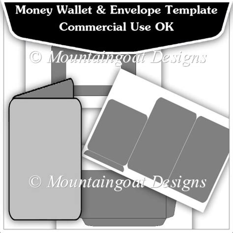 money wallet card template free money wallet envelope template cu ok 163 2 50 instant