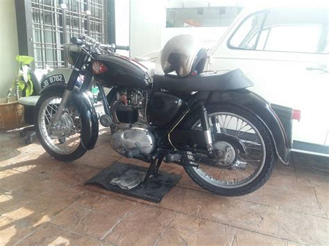 forsale classic motor bsa  malaysia lapak mobil