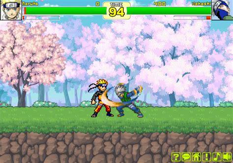play naruto fighting cr kakashi   games  qgamesorg