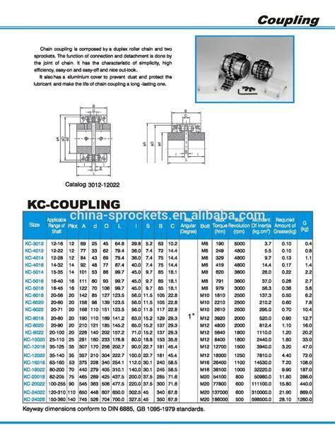 Nis Kc Chain Coupling Kc 3012 chain coupling 6022 buy chain coupling low price high