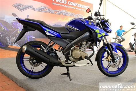Selancarundertail New Vixion Advance Dan Lightning 1 7 fitur baru yamaha new v ixion advance movistar motogp