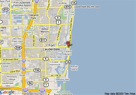 fort lauderdale map ft lauderdale map my