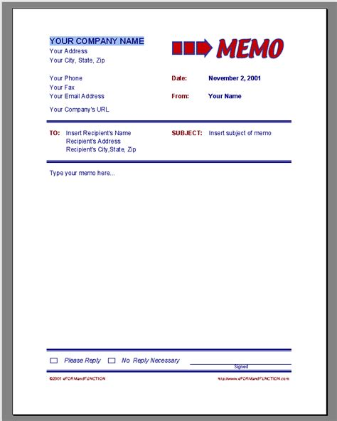 Memo Template Libreoffice Office Memo Template