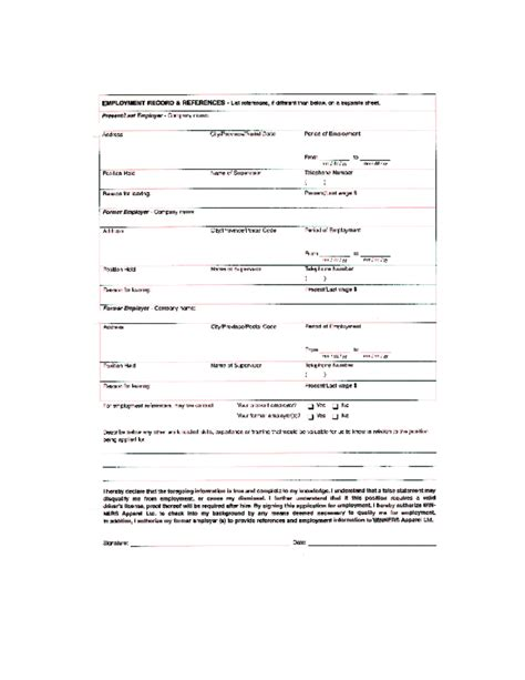 free printable home depot application form page 7