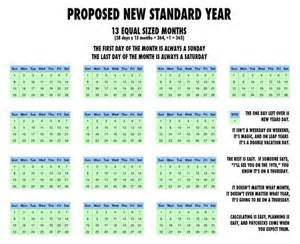 better calendar this 13 month calendar on reddit would make our