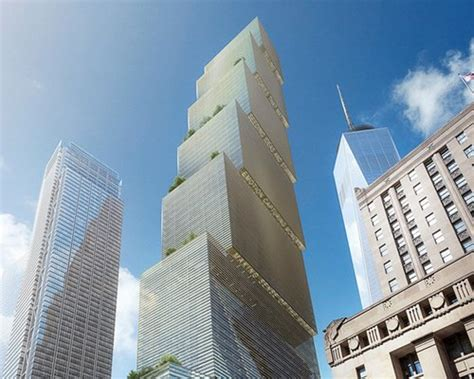 big reveals addition  nyc skyline  stepped  wtc
