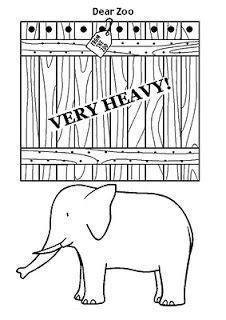 dear zoo printable animals dear zoo printables these made a great felt board story
