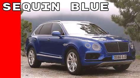 blue bentley interior sequin blue 2017 bentley bentayga test drive interior
